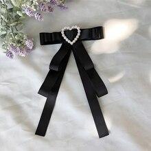Women Tie classic black Butterfly fashion Bow Female Girl Student Hotel Clerk Waitress Neck Wear Ties Shirt accessories