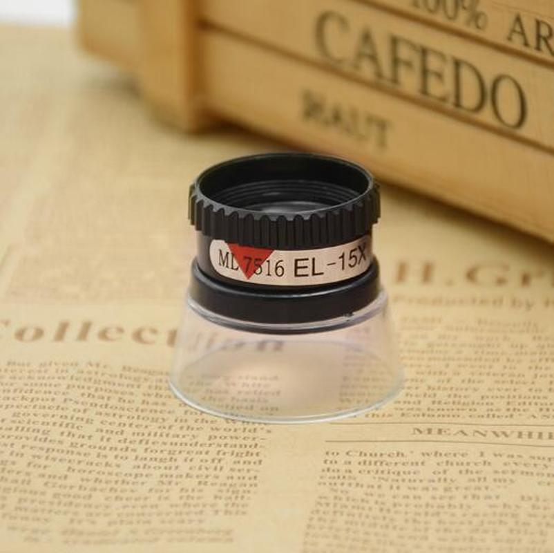 15X Watch Magnifying Jewelry Maker Eye Magnifier Glass Loupe Lens Watch