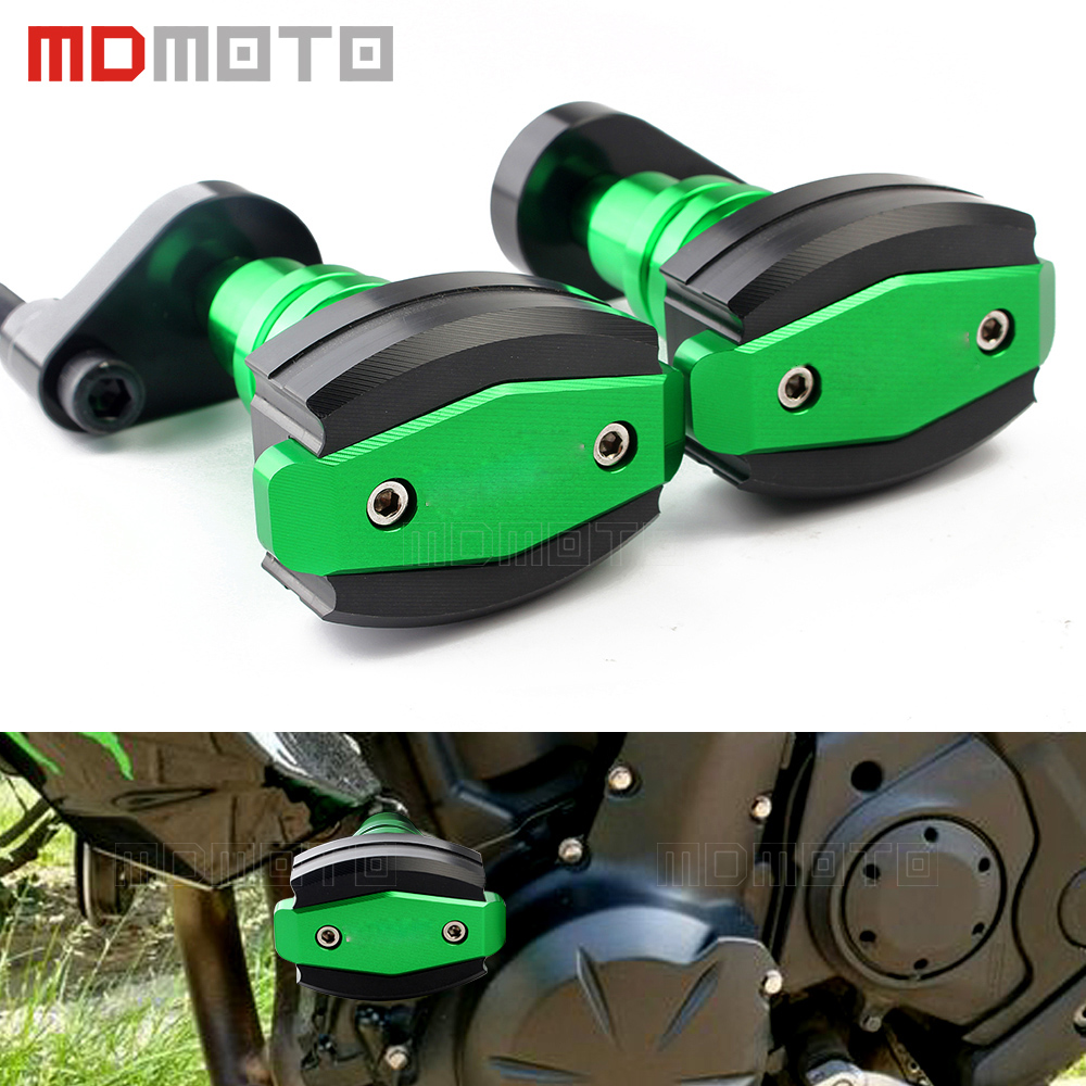 for kawasaki ER6N/ER6F ER 6N 6F 2012-2014 CNC Motorcycle Crash Pads Frame Sliders Protector Sides Motorbike accessories parts frame slider motorcycle frame crash pads engine case sliders protector for kawasaki er 6n er6n er 6n 2012 2013 2014 2015 2016