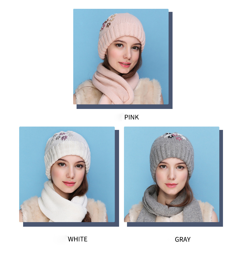 caf229de Charles Perra NEW Women Winter Hats Scarves Two Piece Sets ...