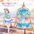 LoveLive!SunShine!! Aqours Watanabe You Stage Dress Girls Outfit Cosplay Costume