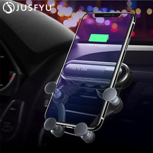 Universal Car Phone Holder For iPhone 8P X XS Air Vent Mount Clip Cell Holder for Phone In Car Mobile Phone Stand Holder Support цены