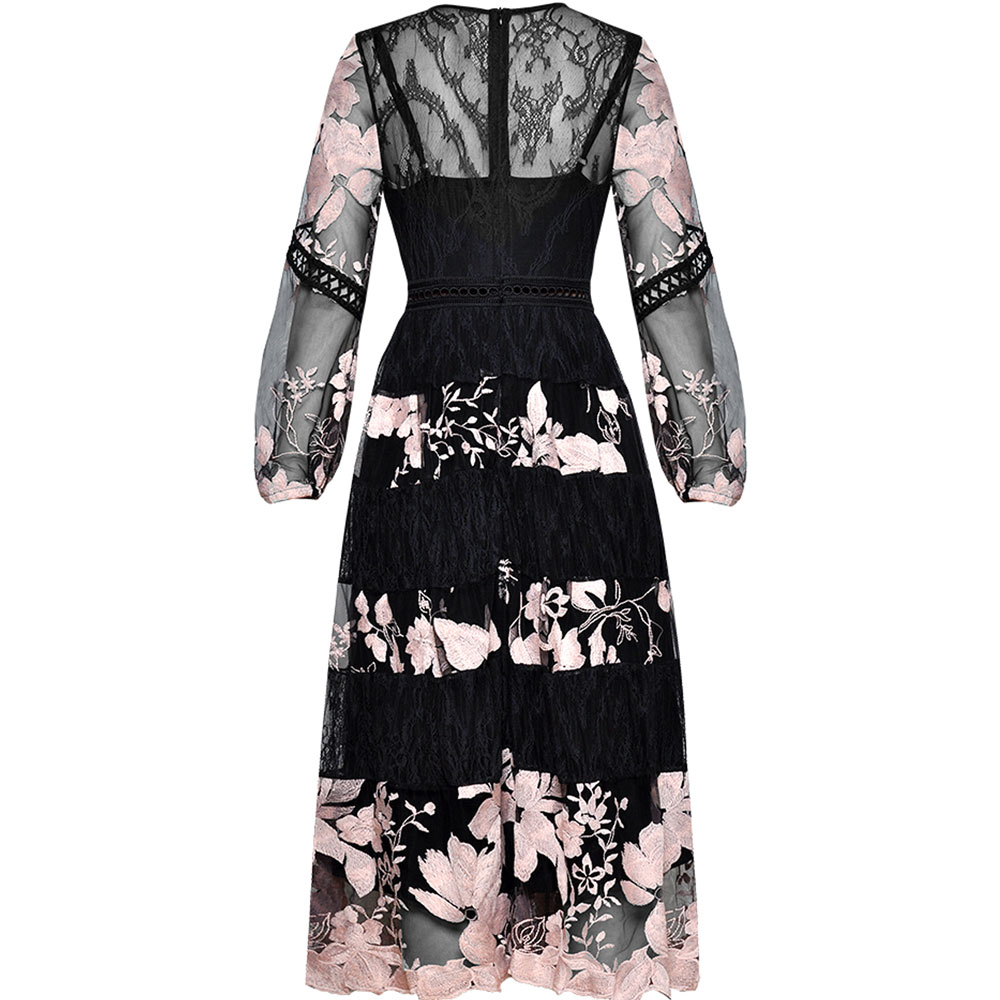 Vestidos Long Dresses Embroidery