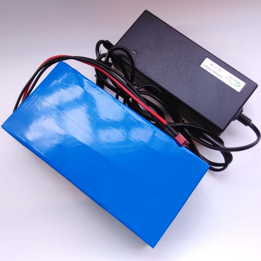 lithium ion battery 1800w 60v 18650 electric bike battery 60v 12ah triangle battery pack with BMS charger For Samsung cell delipow lithium iron phosphate battery charger charger for 1450010440 3 7v 18650 rechargeable li ion cell