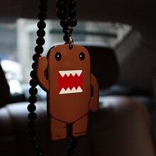 Rear-View-Mirror-Ornament Pendant Hanging Domo Kun Charm Car Car-Styling Auto Hellaflush