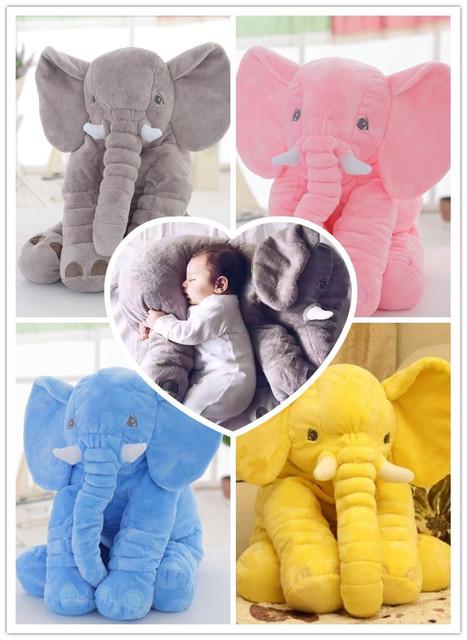 Sono Do Bebê macio Anti Travesseiro Elefante Bebê Travesseiro Travesseiro de Enfermagem Travesseiro Decoração Do Quarto Do Bebê Brinquedos de Pelúcia Presentes Do Bebê