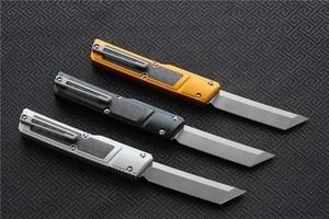 Image 4 - גבוהה באיכות וספה D2 להב המרטש סכין, ידית: 7075 אלומיניום + CF, הישרדות חיצוני EDC ציד טקטי כלי ארוחת ערב מטבח סכין