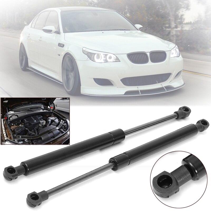 2Pcs Front Bonnet Hood Lift Support Shock Strut For BMW E60 E61 525i 528i 530i Pick Up Accessories Support Damper Shock Strut
