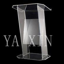 High Soundness Modern Design Cheap Clear Acrylic Lectern