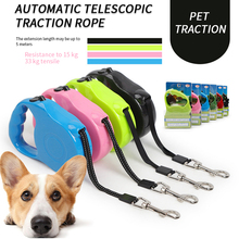 3M 5M Automatic Retractable Dog Leash Flexible Dogs Puppy Cat Traction Rope Belt Husky for Small Medium Pet Products
