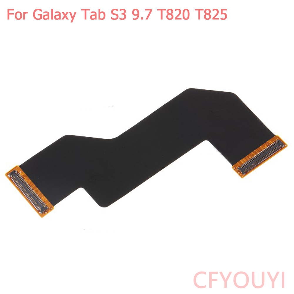 For <font><b>Samsung</b></font> <font><b>Galaxy</b></font> Tab <font><b>S3</b></font> 9.7 T820 T825 Long Thin Short Main <font><b>Board</b></font> Mainboard Motherboard LCD Connection Flex Cable image