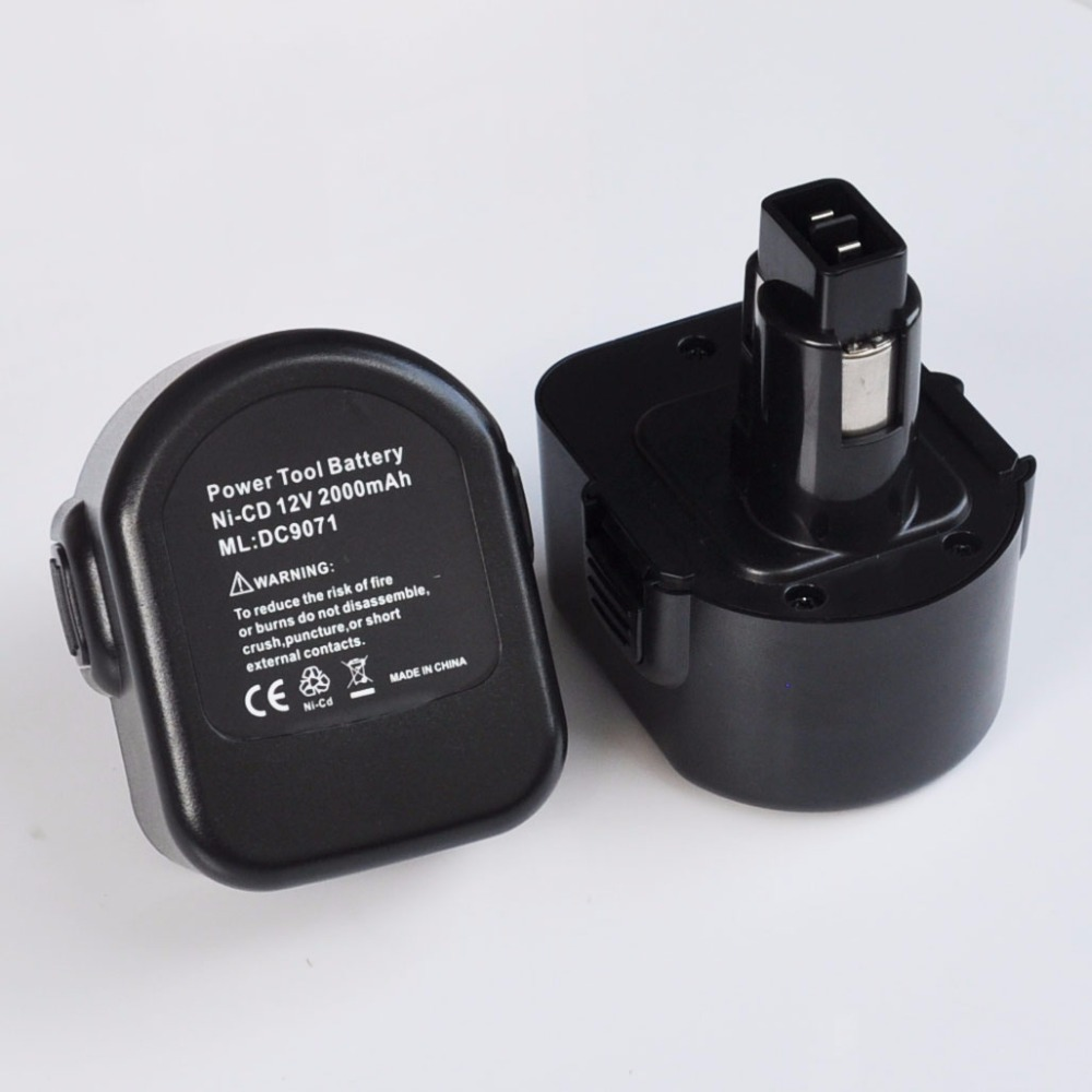 1-2PCS <font><b>12V</b></font> Ni-MH Rechargeable <font><b>Battery</b></font> pack 3000mah for Black Decker cordless Electric drill screwdriver CD12CB CD12CB CD431 image