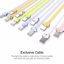 Mascot USB Cable for iPhone  8 7 6 6s 5s for iPad 2 3 4