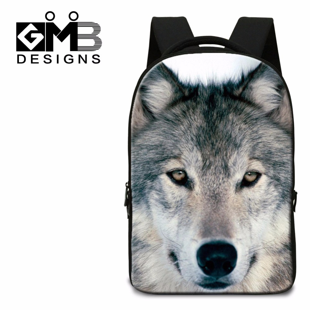 wolf school bag for boys