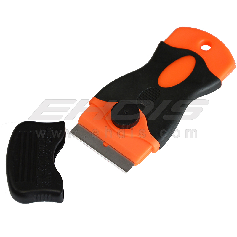 Mini Razor Scraper Single Edge Blade Window Glass Ceramic