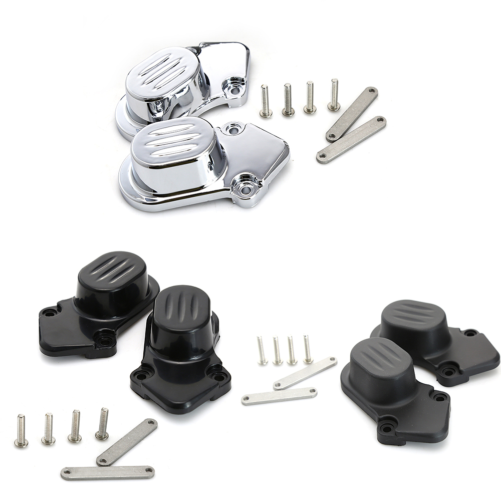 2pcs/set Rear Wheel Axle Kit Cover Cap Motorcycle Styling Accessories For 2005-2014 Harley Davidson Sportster XL 883 1200N abs rear chrome axle cap cover kit motorcycle decorative accessories for harley davidson sportster xl883 1200n 2005 2014 7395