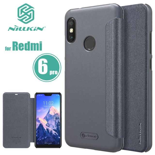 Xiaomi Redmi 7 6 caso Pro Funda de cuero Flip caso de teléfono de lujo cubierta para Xiaomi Redmi 7 6 5 Plus 4 3 Pro nillkin Capa