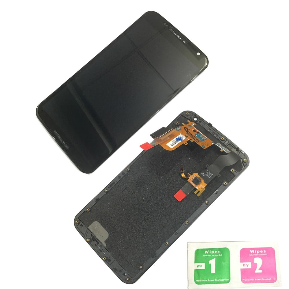 LCD Display Touch Screen Digitizer Pantalla Bezel Frame Replacement For Motorola Moto Nexus 6 XT1100 XT1103 LCD Display Touch Screen Digitizer Pantalla Bezel Frame Replacement For Motorola Moto Nexus 6 XT1100 XT1103