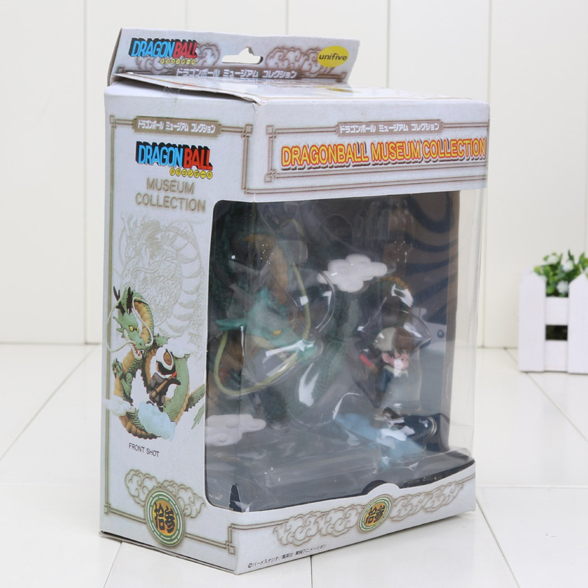 Anime Dragon Ball Z Goku games Museum Collection Shenron Son Goku Action Figure model Toy 5