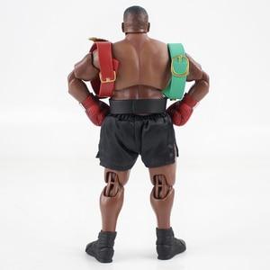 Image 3 - 17.5 センチメートルマイクタイソンフィギュアボクサー 3 ヘッドとsculptsアクションフィギュアグッズ模型玩具