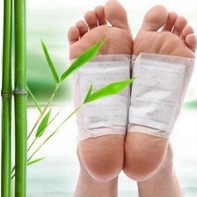 20pcs=(10pcs Patches+10pcs Adhesives) Kinoki Detox Foot Patc