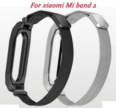2018 watch band For Xiaomi Mi Band 2 3 Metal Wrist Strap Milanese Belt For Miband 3 2 Bracelet Wristband цена