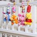 Bebé Recién Nacido Sonajeros 1 unids/set juguetes cochecito de bebé juguete brinquedo bebe Winnie de la historieta de cama bebé sonajero bebé juguetes de peluche