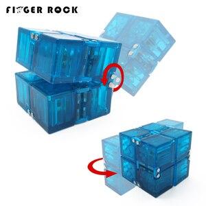 Finger Rock Trend, креативный кубик Infinity, высокое качество, антистресс, офисный флип, Infinite Cube, игрушки для взрослых, ADHD, Oyuncak