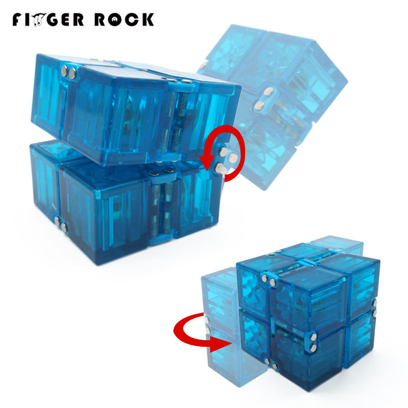 Finger Rock Trend Creative  Infinity Cube High Quality Anti-Stress Office Flip Infinite Cube Toys For Adult ADHD Oyuncak