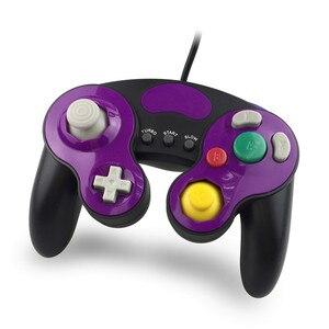 Image 4 - Wired Gamepad בקר עם שלושה כפתור עבור משחק קוביית N G C כף יד ג ויסטיק