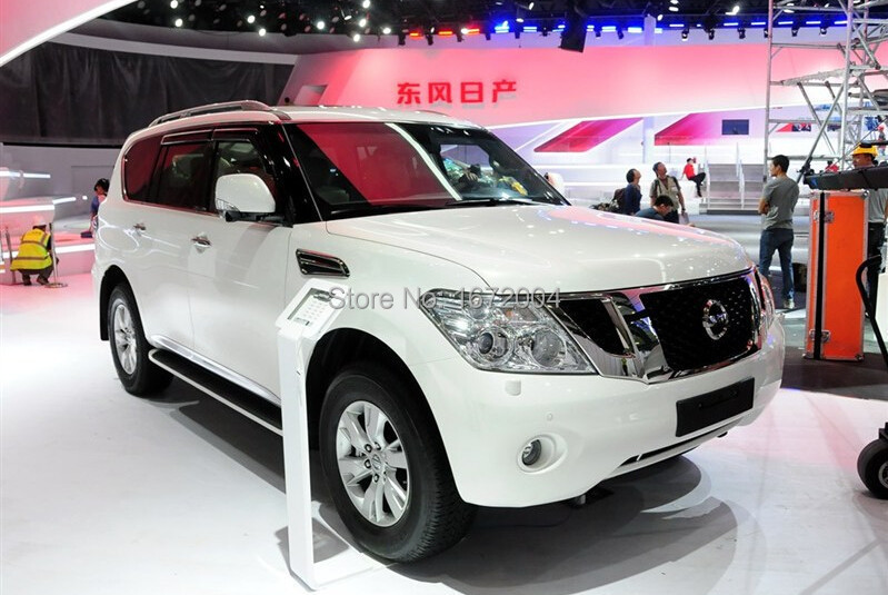 Защитная накладка заднего бампера для Nissan PATROL 2012