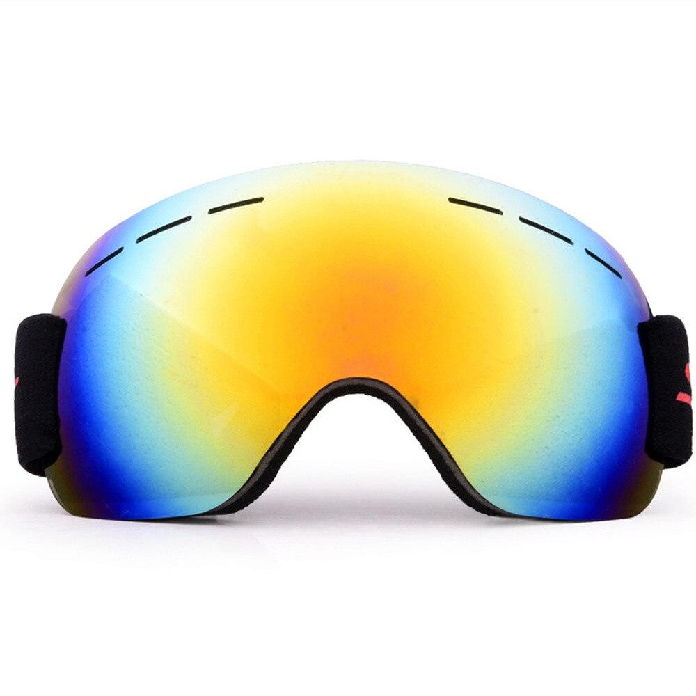 Мир ветер #3001 Сноуборд горнолыжные очки Шестерни Лыжный Спорт для взрослых очки Анти-туман УФ Двойной объектив