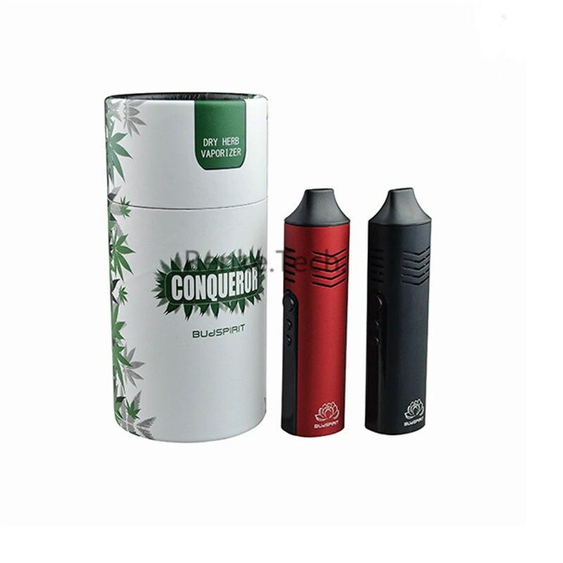 Portable conquérant herbe sèche Vape Cigarette électronique kit stylo numérique vaporisateur à base de plantes en céramique chambre de chaleur contrôle de la température