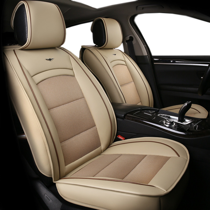 automovil leather car seat cover for toyota solaris RAV4 skoda rapid bmw e46 Land Cruiser Prado 150 kia car stlying accessories-in Automobiles Seat Covers from Automobiles & Motorcycles    1