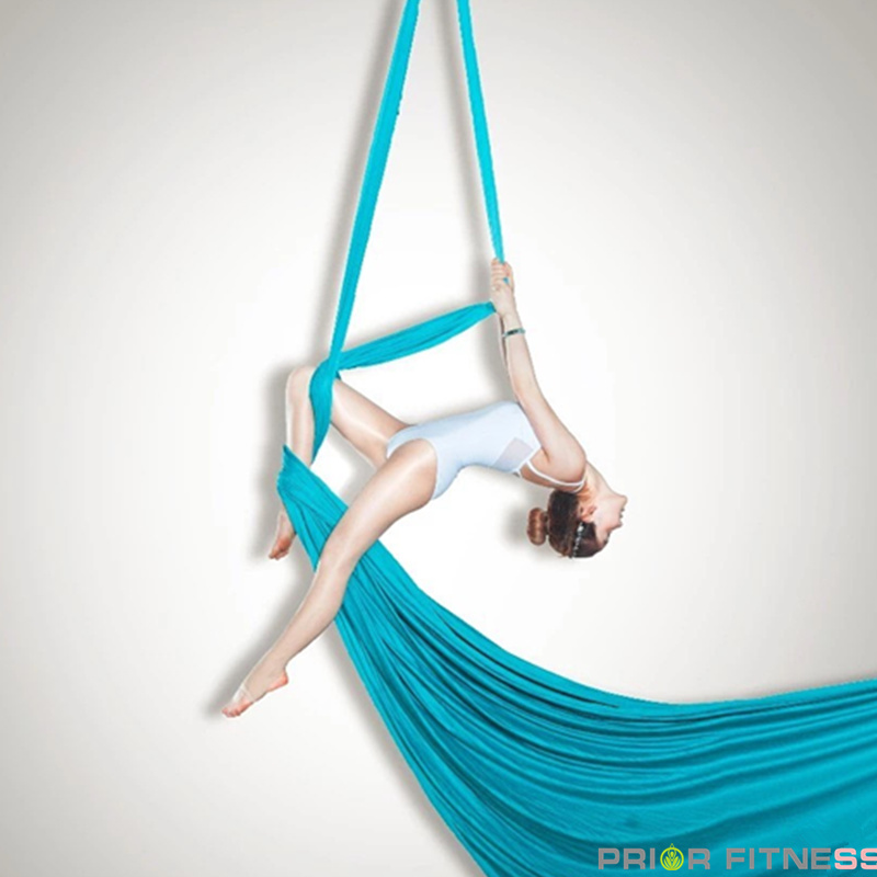 10Yard Yoga Swing Hammock Strap Anti Gravity Inversion Trapeze Sling Aerial  US