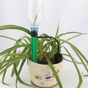 Image 4 - 1セット盆栽花自動灌漑ドリッパー花ポット水まき点滴灌漑キット水保存軟泥ドリッパードリップノズル