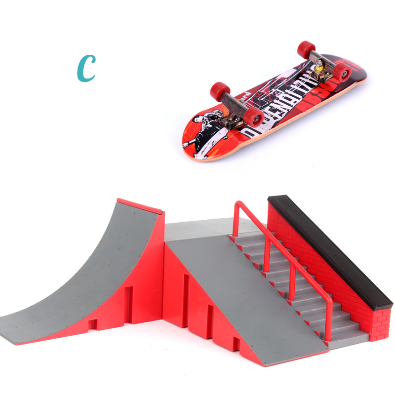 1pc mini skate brinquedo skate parque para 04