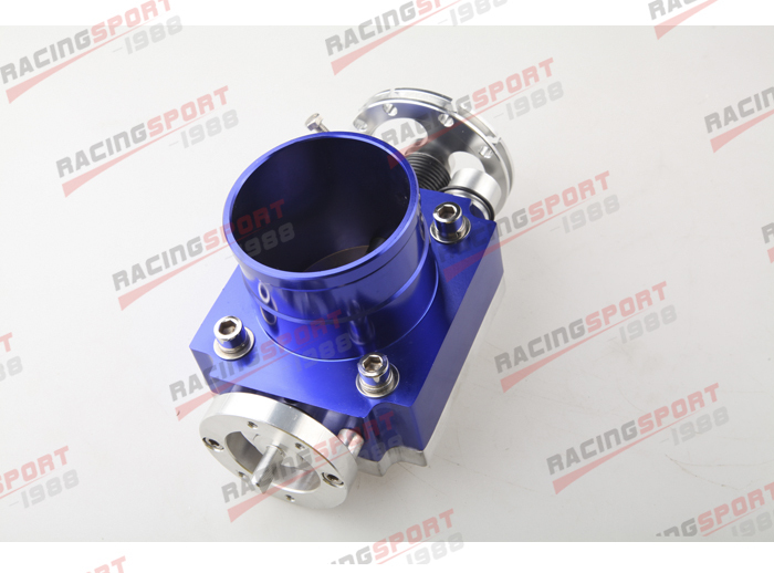 65mm Universal Throttle Body CNC T6 Aluminum Blue 40001 bauer vapor rh x50r inline skates 4 jr
