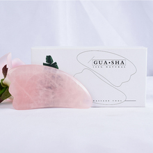 Massage Product Natural Rose Quartz Guash China Traditional Facial SPA Acupuncture Scraping Healing  Tools