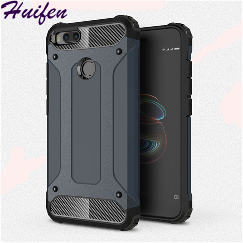 For Xiaomi Mi 5X Case Hard Rugged Case For Xiaomi A1 Hybrid Armor Phone Case Double Protect Slim