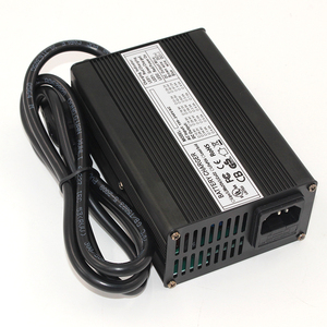 Image 4 - Cargador de batería Lifepo4, 43,8 V, 4A, 12S, 36V, 38,4 V, salida de CC, 43,8 V, con ventilador de refrigeración, envío gratis