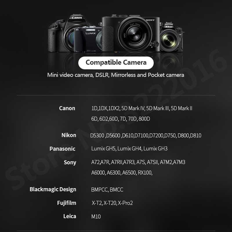 Gudsen Moza Air 2 3 оси Gimbal стабилизатор для Blackmagic карман 4 К BMPCC sony A7S A7R3 GH5 DSLR Камера VS DJI Ронин S Moza Air2