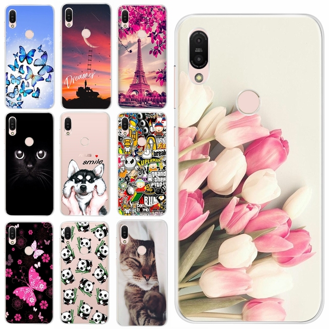 huge discount aac05 b6246 US $0.8 24% OFF|Soft TPU Cover Case For Asus ZenFone Max Pro M1 ZB602KL  Silicone Case Cover For Asus ZenFone Max Pro M2 ZB631KL ZB633KL Bumper-in  ...