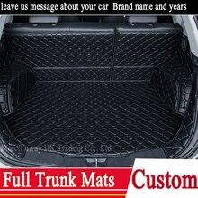 Custom fit автомобилей коврик багажного отделения для Lexus CT200h ES250 GS/350/300 h RX350/450 H GX460h/400 LX570 LS NX 3D автомобиль для укладки ковер грузового лайнера