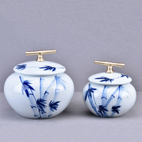 New Chinese ceramic ornaments living rooms bedroom decorations modern fashion furnishings soft furnishings LU712148