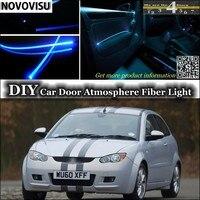 For Proton Satria Neo Interior Ambient Light Tuning Atmosphere Fiber Optic Band Lights Inside Door Panel
