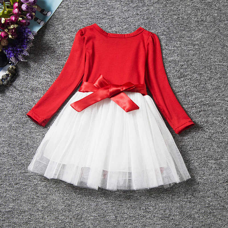1aa89ecccf3 ... Newborn Christmas Dress Baby Girl My 1st Christmas Baby Clothes Ruffle  Tutu Girls Dresses New Year ...