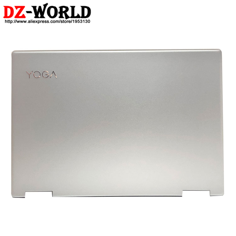 New/Orig Laptop Screen Shell Top Lid LCD Rear Cover Back Case for Lenovo Yoga 720 13IKB Silver 5CB0N67827 AM1YJ000210