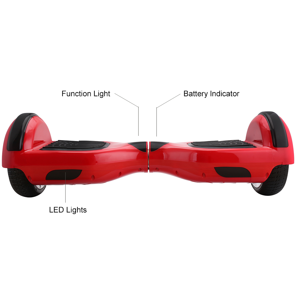 iScooter Self Balancing Hoverboard or two-wheel Skateboard with LED Light 15