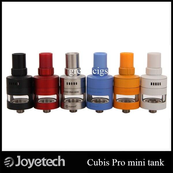 Original Joyetech Cubis Pro Mini 2 ml Vazamento Resistente Copo Design Superior de Enchimento de Controle de Fluxo de Ar Ajustável Tanque